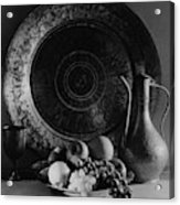 Still Life Of Armenian Plate And Other Acrylic Print