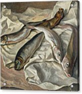 Still Life Of Fish, 1928 Acrylic Print