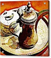 Coffee Time Acrylic Print by Peter Waters