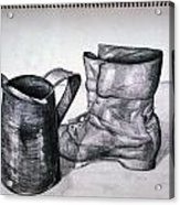 Still Life With Boot Acrylic Print