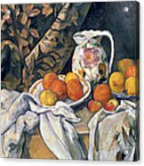 Still Life With Drapery Acrylic Print
