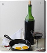 Still Life With Eggs Acrylic Print