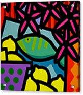 Still Life With Fish Acrylic Print