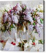 Still Life With Lilac Acrylic Print