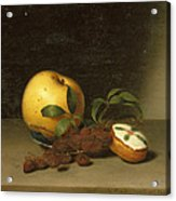 Still Life With Cake  Acrylic Print