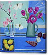Still Life With Sea View Sold Acrylic Print