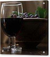 Still Life With Wine Swv1 Acrylic Print