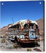 Still Waiting For Roadside Assistance Acrylic Print