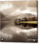Stillness Of The Water Acrylic Print
