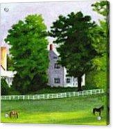 Stillpoint Farm Acrylic Print