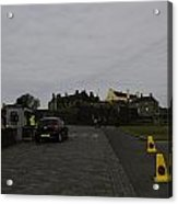 Stirling Castle And The Parking Area For The Castle Acrylic Print
