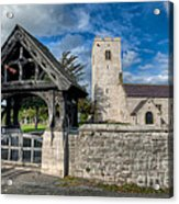 St.marcellas Entrance Acrylic Print