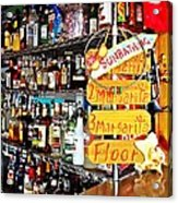 Stocked Bar At Jax Acrylic Print