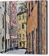 Stockholm 15 Acrylic Print by Yury Malkov