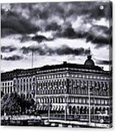 Stockholm Bw V Acrylic Print
