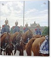 Stockholm Guard Change Hores Acrylic Print