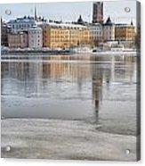 Stockholm Winter Acrylic Print