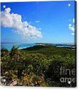 Stocking Island Exuma Bahamas Acrylic Print