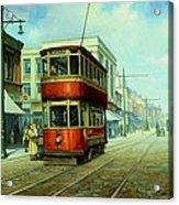 Stockport Tram. Acrylic Print