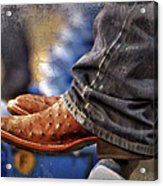 Stockshow Boots IIi Acrylic Print