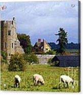 Stokesay Castle Acrylic Print