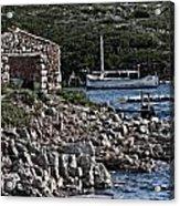 Roman Port Of Sa Nitja In Minorca - Stone And Sea Acrylic Print