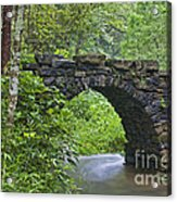 Stone Arch Bridge, China Acrylic Print