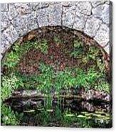 Stone Arch Acrylic Print by Rudy Umans