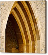 Stone Archway At Tower Hill Acrylic Print