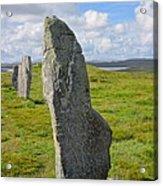 Stone At Callanish IIi Acrylic Print