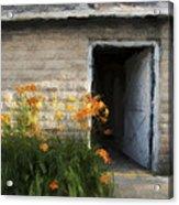 Stone Barn Neo Acrylic Print