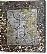 Stone Bee In Jim Thorpe Pa Acrylic Print