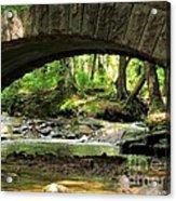 Stone Bridge II Acrylic Print by Elizabeth Dow