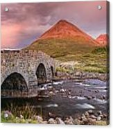 Stone Bridge Over Sligachan Acrylic Print