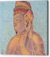 Stone Buddha / Purity Acrylic Print