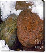 Stone Cold Acrylic Print