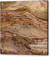 Stone Colors And Textures Acrylic Print