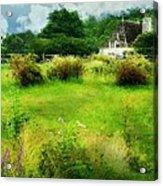 Stone Crop Garden Acrylic Print