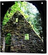 Stone House Doorway Acrylic Print