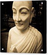 Stone Monk Acrylic Print