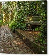 Stone Path Acrylic Print by Jess Kraft
