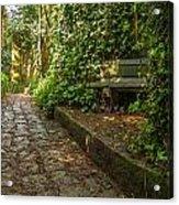 Stone Path Through A Forest Acrylic Print by Jess Kraft