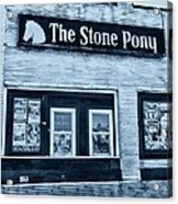 Stone Pony Cool Side View Acrylic Print