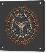 Stone Ridge Mandala Acrylic Print