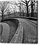 Stone Road And Path Acrylic Print