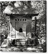 Stone Shrine Acrylic Print