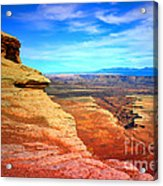 Stone - Sky - Colour Acrylic Print