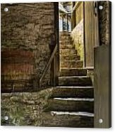 Stone Stairs Acrylic Print