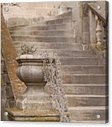 Stone Steps National Cathedral Acrylic Print
