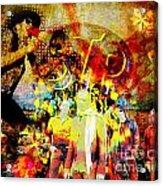 Stone Temple Pilots Original  Acrylic Print